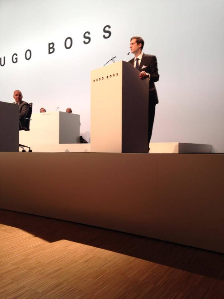 Rechtsanwalt Filippo Siciliano Hugo Boss