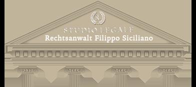 STUDIO LEGALE Rechtsanwalt Filippo Siciliano
